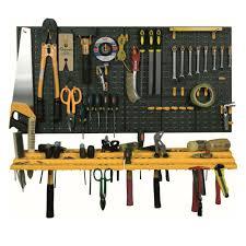 diy tool organiser wall mount storage