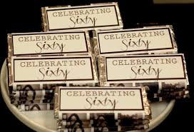 60th birthday party enternment ideas party favors