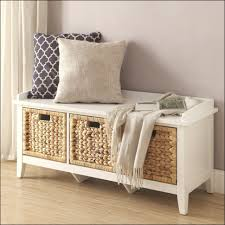 Bench Bedroom Bench With Storage Lovely Furniture Sets End Of Inside Narrow  For Foot Velvet Leather