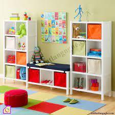 Top 10+ Kệ tủ để đồ chơi cho bé bằng gỗ [bền + đẹp] giá rẻ nhất 2021