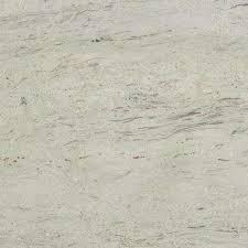 granite countertop sample in river white