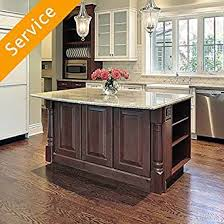 Kitchen Island Assembly Amazoncom Home Services
