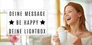 Alles Zu Lightboxen Sprüche Tipps Buchstaben Geschenkidee