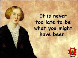 Creative Quotations from George Eliot for Nov 22 - YouTube via Relatably.com