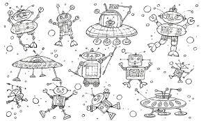 Robots Kleurplaat Hanneke De Jager