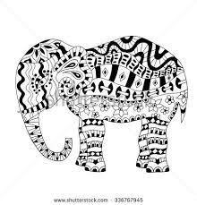 Small Picture Indian Elephant Design Coloring Pages Baby Girl Elephant Design