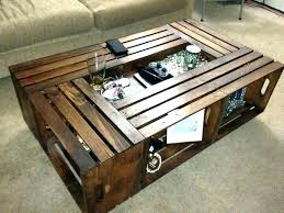 diy wooden crate coffee table wooden crate coffee table instructions wood box how to build a