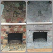 ugly stone fireplace makeover hometalk inspiring ideas