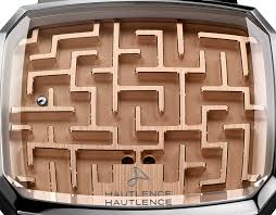 Wooden Maze Games Hautlence Playground Labyrinth 'Watch' Is Nothing But A Fancy Ball 96