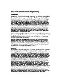 essay on genetic engineering and genetic engineering essays  essay on genetic engineering and genetic engineering essays and papers edu essay