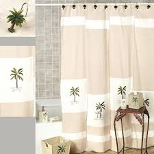 smlf ii palm tree tropical shower curtain for sizing x lighthouse nautical shower curtain hooks set bathroom