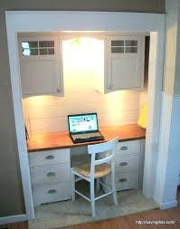 office closet ideas. Closet Desk Ideas Turn Into Area Best Turned Office On Nook .