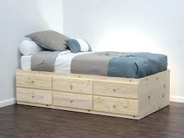 bed with drawer drawer perfect captains bed twin with drawers best of best twin bed frame bed with drawer
