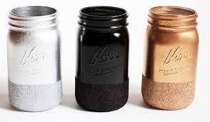 mason jar makeup brush holder. brush holders vanity middot glitter dipped mason jar makeup holder