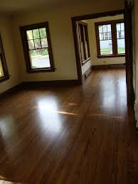 stained or painted trim with dark wood floors google search