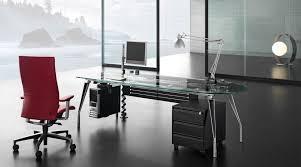 modern glass furniture. contemporary office desk glass furniture modern executive