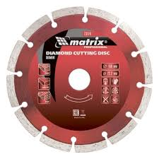 <b>Диск алмазный MATRIX</b> 73173, сегментный, 125 х 22,2 мм, сухая ...