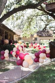 Ballon housewarming decor