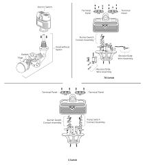 mcdonnell miller 166400 model 94 7b hd head mechanism mcdonnell miller model 94 194 lwco pump controller exploded view parts diagram