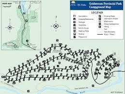 sitemap of goldstream cground