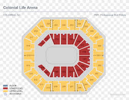 State Farm Arena Seating Chart With Seat Numbers Pbr January Colonial Life Arena Seating Chart With Seat