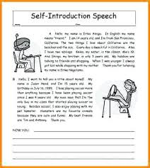 Self Introduction Speech Examples Writing And Conclusion Best Ever ...