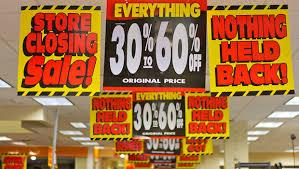 Store Closing Sales Savings Myths Brads Deals