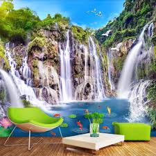 Lukisan Dinding Pemandangan Alam ...