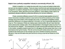 a level economics model essay on perfect competition by a level economics model essay on perfect competition by junaidahmed01 teaching resources tes