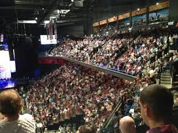 Mohegan Sun Arena Uncasville Ct Concert Seating Chart Section 26 Row S Picture Of Mohegan Sun Arena Uncasville