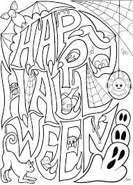 Free Printable Coloring Pages For Older Halloween Sheets Students