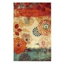 mohawk home pandora multi 5 ft x 8 ft area rug