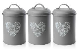 Kitchen Storage Canisters Details About Set Of 3 New Tea Coffee Sugar Kitchen Storage