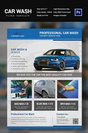 Car Wash Flyer Template Aradiotk Auto Detailing Flyer - Entown Posters