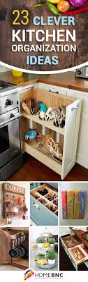 Kitchen Drawer Organizing 20 Clever Kitchen Organization Ideas Under Sink Kitchen Sink