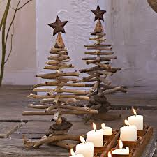 Wooden Christmas Tree Ideas  CHRISTMAS  Pinterest  Wooden Wooden Branch Christmas Tree