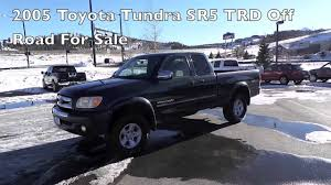 2005 Toyota Tundra SR5 TRD Off Road Access Cab Truck For Sale in ...