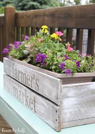 pallet wood planter. how to make a pallet wood planter box7
