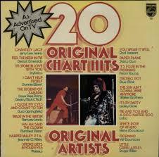 Various 60s 70s 20 Original Chart Hits Uk Vinyl Lp Album