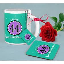 44th wedding anniversary gift bo