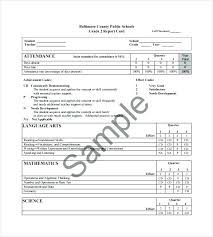 Technical Report Template Gorgeous Progress Report Template Doc Grade Card R Format Danilenko