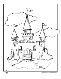 680x880 cinderella castle coloring pages coloring page for kids