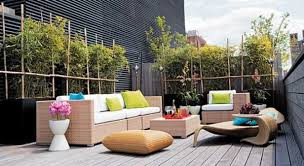 small terrace furniture. furniture for outdoor rooms sofa with colorful suchions small terrace