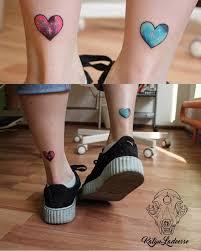 16 отличных идей татушек для ног