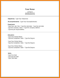6 Examples Of Resumes For Jobs With No Experience Cains Cause