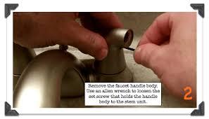leaky faucet delta bathroom faucet