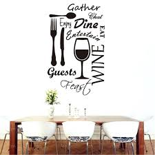 kitchen wall art stickers kitchen word vinyl wall art stickers dining food wine quotes wall decals restaurant decoration mural kitchen wall art decal