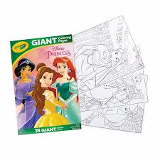 The bfg is about sophie who is taken away by a giant to giant country. Crayola Giant Coloring Pages Disney Princess 1 Toyworld