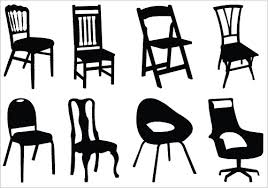 furniture clipart black and white. wedding chair cliparts #2937894 furniture clipart black and white a