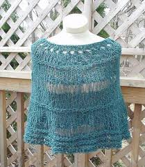 Free Easy Knitting Patterns Delectable Knitting Free Knitting Pattern Pepper Wrap Poncho